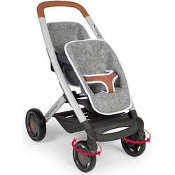 Smoby Puppen-Zwillingsbuggy Quinny, grau