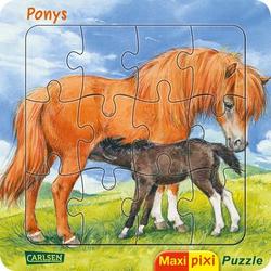 CARLSEN Maxi Pixi: Maxi-Pixi-Puzzle: Ponys