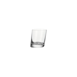 LEONARDO Glas PISA Trinkglas Whiskybecher 230 ml Einzelglas (1-tlg), Glas