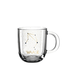 LEONARDO Tasse Tasse 400 ml Waage ASTRO (1-tlg), Glas