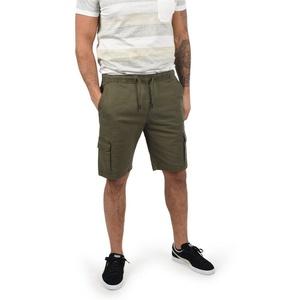 Indicode Cargoshorts Frances kurze Hose mit elastischem Bund grün XL