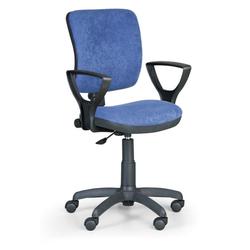 Bürostuhl, schreibtischstuhl milano ii, blau