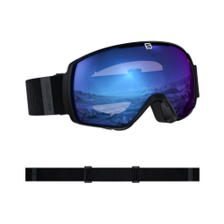 Salomon - Xt One Sigma Bk/Loligh Ice Blu - Skibrillen