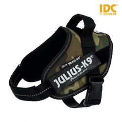 Julius-K9 IDC Powergeschirr camouflage, Größe: Mini-Mini / S