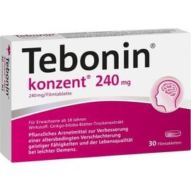 Dr Willmar Schwabe GmbH & Co KG Tebonin konzent 240 mg Filmtabletten 30 St.