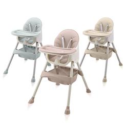 Baby Vivo Design 2in1 Kinderhochstuhl - Oscar, Farbe: Pink