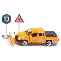 SIKU 2546 - VW Amarok Winterdienst gelb 1:55