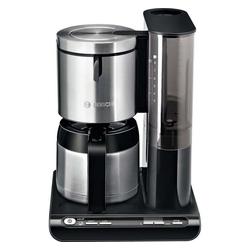 BOSCH Filterkaffeemaschine Bosch TKA 8653 sw Thermo-Kaffee-Automat