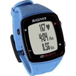 Sigma iD.RUN HR Fitness-Tracker Blau