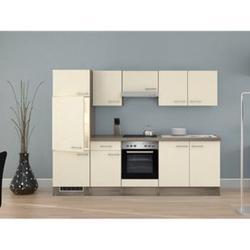 Flex-Well Küchenzeile G-270-2208-002 Eico 270 cm - Glaskeramikkochfeld