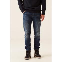 Garcia Slim-fit-Jeans mit Whisker-Effekt