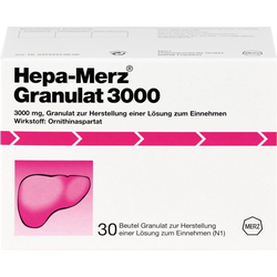 HEPA MERZ Granulat 3.000 Btl. 30 St.