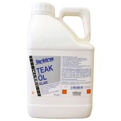 YACHTICON Teak Öl Klar 5 Liter