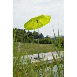 Schneider Schirme Sonnenschirm Locarno, ohne Schirmständer grün Sonnenschirme -segel Gartenmöbel Gartendeko