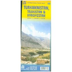 Turkmenistan - Tadschikistan - Kirgisistan 1 : 3 50 000 / 1 : 1 100 000