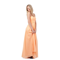 AvaMia Abendkleid AvaMia-Kleid-3409 Festliches Chiffon Abendkleid, Chiffonkleid, langes Kleid 36