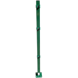 Peddy Shield Zaunpfosten, 90 cm Höhe, für Ein- und Doppelstabmatten grün
