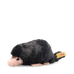 Steiff Kuscheltier Steiff Bazi Maulwurf 14 cm, schwarz, 056314