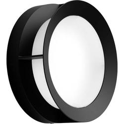 Philips Actea LED-Außenwandleuchte 12W Schwarz