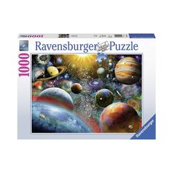 Ravensburger Puzzle Puzzle Planeten, 1.000 Teile, Puzzleteile