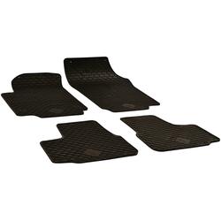 Walser Passform-Fußmatten (4 Stück), Seat, Skoda, VW Citigo, Mii, Up Schrägheck, für Skoda Citigo, Seat Mii und VW UP