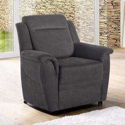 sit&more Sessel, auf Rollen grau