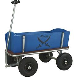 Beachtrekker Style Holzbollerwagen, Handwagen, Leiterwagen (Pirat)