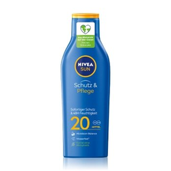 NIVEA SUN Schutz & Pflege LSF 20 krem do opalania  250 ml