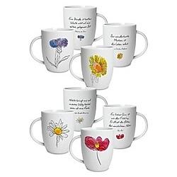 Geschenktassen, Tassenset mit vier Tassen