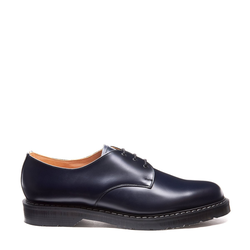 Solovair 3 Eye Gibson Shoe - Navy Blue