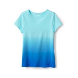 Shirt mit Farbmustern - 98/104 - Blau