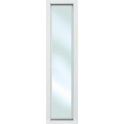 KM MEETH ZAUN GMBH Seitenteile S01, für Alu-Haustür, BxH: 60x208 cm, weiß weiß