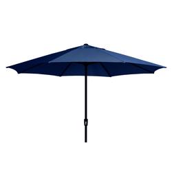 Madison SUMATRA Sonnenschirm Kurbelschirm Ø 400cm rund blau