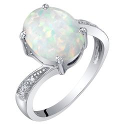 Goldring mit Opal und Diamanten Savannah
