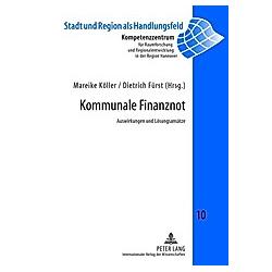 Kommunale Finanznot - Buch