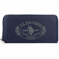 U.S. Polo Assn. Springfield Geldbörse 19 cm navy