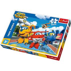 Trefl Puzzle Maxi Puzzle 24 Teile - Super Wings, Puzzleteile