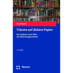Träume auf dickem Papier als Buch von Jörg Weigand