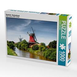 Greetsiel - Deutschland Lege-Größe 64 x 48 cm Foto-Puzzle Bild von uwe vahle Puzzle