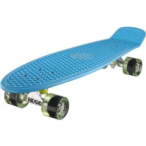 Ridge Skateboard Big Brother Nickel 69 cm Mini Cruiser, blau/ klar grün