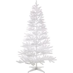 Home affaire Künstlicher Weihnachtsbaum, in edlem Weiß, mit Metallständer Ø 101 cm x 180 cm