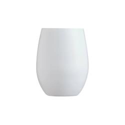 Chef & Sommelier Tumbler-Glas Primary White, Krysta Kristallglas, Trinkglas Wasserglas Saftglas 350ml Krysta Kristallglas weiß 6 Stück