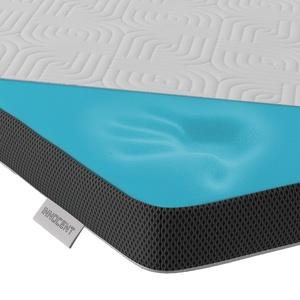 INNOCENT® Gel-Schaum Tencel Topper 200 x 200 cm   3D-Air-Flow   Viskoelastische Matratzenauflagen 5cm Höhe   Memory Foam Matratzenschoner   für Matratzen & Boxspringbett gegen Rückenschmerzen