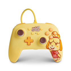 PowerA Animal Crossing Wired Controller Isabelle Nintendo-Controller