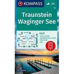 Traunstein Waginger See 1:50 000