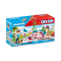 Playmobil® Spielfigur PLAYMOBIL® 70593 Kaffeepause