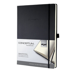 Sigel Notizbuch, Conceptum CO108 Notizbuch A4 Hardcover dotted Kladde Notizheft Buch