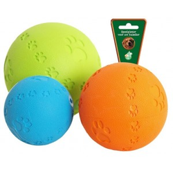 Rubber bal met pootjes en piep  Large