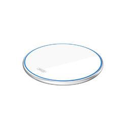 XO XO Qi Wireless Charger Ladegerät 10W drahtloses Induktionsladegerät Aufladen von Smartphones weiß Wireless Charger
