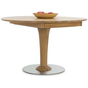 Esstisch Willi Witlake Willi (H 77 cm) Witlake wildeiche 115/165 x 115 cm variante d konische säule